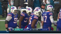 Memes, Nfl, and Cbs: - NFL  (7-8)  15-101  NFL In his final NFL game... Kyle Williams caught a pass!!  And his @buffalobills teammates are loving it ❤️👏  📺: CBS #GoBills https://t.co/6jAOud7cDo