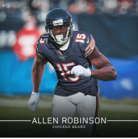 Welcome to the @ChicagoBears, Allen Robinson! https://t.co/k1O9Tga99V: NFL  ALLEN ROBINSON  CHICAGO BEARS Welcome to the @ChicagoBears, Allen Robinson! https://t.co/k1O9Tga99V