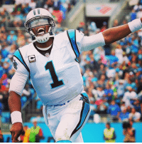 f46322e63397 Cam Newton (315 yards, 3 TDs) is ALWAYS smiling. 😂🏈😎