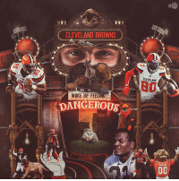 Cleveland Browns, Memes, and Nfl: NFL  CLEVELAND BROWNS  CLEVELAND  WOKE UP FEELI  DANGEROUS  24  CLEVELAND  CLEVELAND  00/ 4 wins in their last 5 games.  The @Browns are feeling dangerous 👀  #Browns https://t.co/NWgCYnLovf