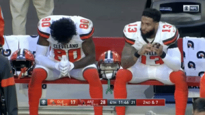 When you realize not even Jesus Christ himself could lead the Browns to the playoffs https://t.co/D9U3pZEpki: NFL  CLEVELAND  VELA  CLE  17  ARZ  -13-9-1)  28 4TH 11:46 21  2ND & 7  I=(6-7)  13  08 When you realize not even Jesus Christ himself could lead the Browns to the playoffs https://t.co/D9U3pZEpki