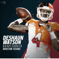 Memes, Nfl, and Houston Texans: NFL  DESHAUN  WATSON  OUARTERBACK  HOUSTON TEXANS  ALL IN Welcome to Houston, @DeshaunWatson4!  #NFLDraft https://t.co/tRawKI8JBK