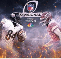 Memes, Chiefs, and Steelers: NFL  DIVISIONAL  SUNDAY  7:30 PM ET Make your adjustments ! Steelers vs Chiefs will start at 8:20 pm instead of 1:05pm with pregame coverage starting at 7:30 pm , due to weather and safety concerns for fans in Kansas City .  Here we go Steelers here we go !!!   #steelersfrenzy