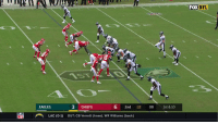 The 🏈 bounces off the DB. And right into @ZERTZ_86's hands.  Unreal! #PHIvsKC #FlyEaglesFly https://t.co/u8xQeOBQj7: NFL  EAGLES  3 CHIEFS  6 2nd 12 08 1st &10  iiii ︵,  LAC (0-1)  OUT: CB Verrett (knee), WR Williams (back) The 🏈 bounces off the DB. And right into @ZERTZ_86's hands.  Unreal! #PHIvsKC #FlyEaglesFly https://t.co/u8xQeOBQj7