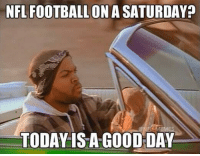 Who's ready for the playoffs tonight!: NFL FOOTBALL ON A SATURDAY  TODAY IS A GOOD DAY Who's ready for the playoffs tonight!