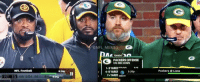 So is having a backup head coach in the NFL now a thing orrr...?: NFL Football  PIT 15 4th 5.04 32  ONFL MEMES  TONIGHT  PACKERS OFFENSE  ON 3RD DOWN  1-3 YARDS Toen  4-6 YARDS  5:20p  7+ YARDS DIRECTV  Packers Lions So is having a backup head coach in the NFL now a thing orrr...?