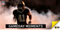 Memes, Monster, and Nfl: NFL  GAMEDAY MOMENTS  PRESENTED BY  BUFFALO  WILD  WINGS Another monster performance for @A_kamara6!  2 TDs in the @Saints WIN! https://t.co/O4NlubTguZ
