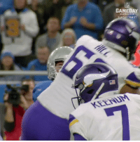Memes, Nfl, and Home: NFL  GAMEDAY  MORNING  UNDAY 7AM ET  KEENM Could the @vikings play in #SBLII on their home field? 🤔 https://t.co/QSc60aR9TJ