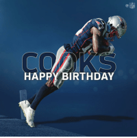 Birthday, Memes, and Nfl: NFL  HAPPY BIRTHDAY Happy 24th Birthday to @Patriots WR @brandincooks! #GoPats https://t.co/iinlWau4Au