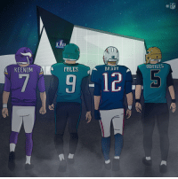 Welcome to Championship Sunday! #NFLPlayoffs https://t.co/bAZJz4lGXY: NFL  Lii  PATRI  AGUAR  BORTLES  KEENUMFOLES  BRADY  79125 Welcome to Championship Sunday! #NFLPlayoffs https://t.co/bAZJz4lGXY