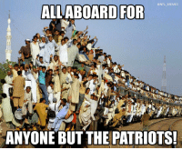 All aboard! https://t.co/AiDldnMPF7: @NFL MEMES  ALLABOARD FOR  ANYONE BUT THE PATRIOTS All aboard! https://t.co/AiDldnMPF7