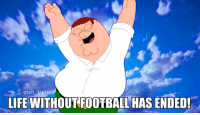 Me right now: @NFL MEMES  LIFE WITHOUT FOOTBALL HAS ENDED! Me right now