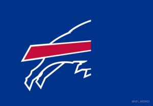 New logo of the Buffalo Bills...  Second half not included https://t.co/dMatarZkK2: @NFL_MEMES New logo of the Buffalo Bills...  Second half not included https://t.co/dMatarZkK2