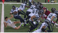 The REAL reason Russell Wilson tripped into his own end zone...: @NFL MEMES  NFL  FOX The REAL reason Russell Wilson tripped into his own end zone...