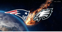 Philadelphia Eagles, Football, and God: @NFL MEMES No lie, there actually is an astroid named 2002 AJ129 set to narrowly miss Earth at 9:30 p.m. on February 4th, the night of the Super Bowl. Dear god please hit us so neither the Patriots or Eagles can win. https://t.co/NtLH2wDm3v