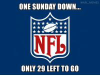 @NFL MEMES  ONE SUNDAY DOWN  NFL We can do it!!!
