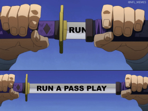 Seahawks with the ball on the 1-yard line and a chance to win the Super Bowl... https://t.co/M2V8p4Cdaw: @NFL_MEMES  RUN  RUN A PASS PLAY Seahawks with the ball on the 1-yard line and a chance to win the Super Bowl... https://t.co/M2V8p4Cdaw