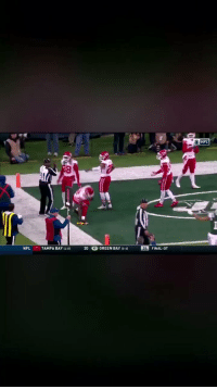A closer look at the Marcus Peters flag throwing video shows his throw took out an innocent bystander. Shameful.  (Video via @aaronldavidson_) https://t.co/MaaWn1Eze5: NFL  NFL TAMPA BAY 8 20 G GREEN BAY 16-61 26 FINAL-OT A closer look at the Marcus Peters flag throwing video shows his throw took out an innocent bystander. Shameful.  (Video via @aaronldavidson_) https://t.co/MaaWn1Eze5