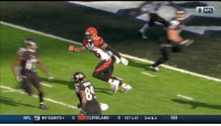 Memes, Cleveland, and Giant: NFL ny NY GIANTS 0  CLEVELAND  0 1 ST 4:51  3rd & 6  46)  NFL Flop of the year?