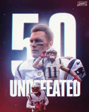The @Patriots are UNDEFEATED. #GoPats https://t.co/jjBvNMfXqR: NFL  PATRIOTS  11  UN EATED  NFL  PATRITE  PATS The @Patriots are UNDEFEATED. #GoPats https://t.co/jjBvNMfXqR