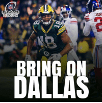 Memes, NFL Playoffs, and Dallas: NFL  PLAYOFFS  THEPACKERPACE America's Team............ will head to Dallas to take on the Cowboys😎 Packers NFL GoPackGo RunTheTable @rcobb18 (📷: packers.com)