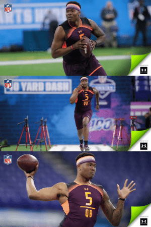 .@OhioStateFB QB @dh_simba7 is one step closer to making his NFL dream a reality. #NFLCombine (by @UnderArmour) https://t.co/ENL6RCYZdH: NFL  PRESENTED BY   NFL  OB  PRESENTED BY   NFL  QB  PRESENTED BY .@OhioStateFB QB @dh_simba7 is one step closer to making his NFL dream a reality. #NFLCombine (by @UnderArmour) https://t.co/ENL6RCYZdH