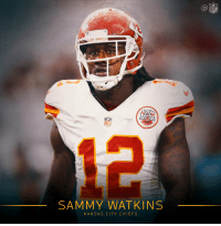 Welcome to the @Chiefs, @sammywatkins! 🙌 https://t.co/GLLVRsJIhC: NFL  SAMMY WATKINS  KANSAS CITY CHIEFS Welcome to the @Chiefs, @sammywatkins! 🙌 https://t.co/GLLVRsJIhC