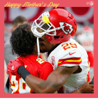 Memes, Nfl, and Kiss: NFL .@Stuntman1429 with a kiss for mom. #MothersDay https://t.co/dEj5yq6BQJ