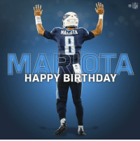 Birthday, Memes, and Nfl: NFL  TITANS  MARMOTA  MAI OTA  HAPPY BIRTHDAY Join us in wishing @Titans QB Marcus Mariota a Happy 24th Birthday! #TitanUp 🎂🎂🎂 https://t.co/7ksFOEzfSC