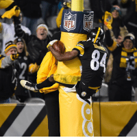 Touchdown celebration of the year.: NFL Touchdown celebration of the year.