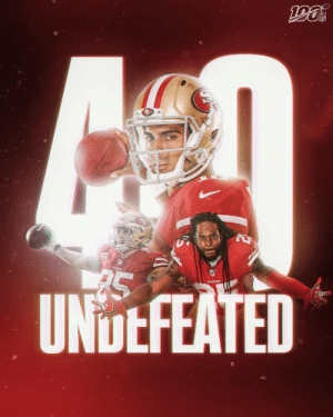 The @49ers are 4-0! #GoNiners https://t.co/e9N9uUZiVK: NFL  UNDEFEATED The @49ers are 4-0! #GoNiners https://t.co/e9N9uUZiVK