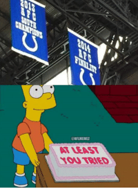 The Colts recently unveiled their new banners and they are adorable.: @NFLMEMEZ  ATLEAST  YOU TRIED  3C- The Colts recently unveiled their new banners and they are adorable.