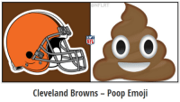 These NFL look-a-likes are hilarious: .: NFLRI  RYT  NFL  Cleveland Browns Poop Emoji These NFL look-a-likes are hilarious: .