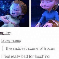 why does elsa look like henry from once upon a time in this: ng-ler:  biorgmans:  the saddest scene of frozen  I feel really bad for laughing why does elsa look like henry from once upon a time in this