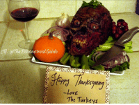 Happy ThanksGiving Guys!!! I hope you have a good one, EAT AS MUCH TURKEY AS YOU CAN WOOOOOOO 😊🦃 . . . . . . thanksgiving funny Turkey thankful creepy scary horror food family: NG: @The Paranormal Guide  VE  The Turkeys Happy ThanksGiving Guys!!! I hope you have a good one, EAT AS MUCH TURKEY AS YOU CAN WOOOOOOO 😊🦃 . . . . . . thanksgiving funny Turkey thankful creepy scary horror food family