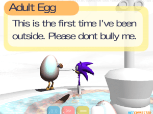 me irl: NGOODSERVE  024  Adult Egg  This is the first time I've been  outside. Please dont bully me.  NETCONNECTED me irl
