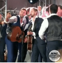 Jordans, Memes, and National Hockey League (NHL): NHL  oisCUSSION Brett Kissel and the Edmonton Oilers of present and past years rocked out on stage to WagonWheel at current Islander, Jordan Eberle's wedding NHLDiscussion
