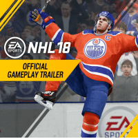 The first gameplay trailer for NHL 18 has been released; Connor McDavid is the cover athlete. https://t.co/aQFjV5lsZR: NHL18  SPORTS  OFFICIAL  GAMEPLAY TRAILER The first gameplay trailer for NHL 18 has been released; Connor McDavid is the cover athlete. https://t.co/aQFjV5lsZR