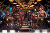 Family, Memes, and Arrow: Nia ; Watched GOTG Vol. 2 last night and it was amazing! There were a lot of laughs, and there were moments having to do with family, which I think was a nice emotional touch. I didn't expect to have some tears though... Drax and Mantis were hilarious together and Baby Groot was adorable (can I have one?). Also I really liked the sequences with Yondu and his arrow. That's a pretty cool weapon. If you haven't seen the movie yet, go see it! And don't forget that there are 5 mid-credit scenes! Most were just humor, and one was peek of what's coming next for the GOTG. Have you seen GOTG Vol. 2 yet? If so, what did you think? (Beware of spoilers in the comment section!)