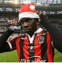 Mario Balotelli has either scored, been booked or been sent off in every match he has played for Nice.: NIC  mliti lalloc Mario Balotelli has either scored, been booked or been sent off in every match he has played for Nice.