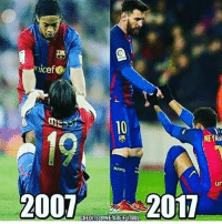 Memes, 🤖, and Links: nicef  NENKN  un  2007  CREDITS WE ARE FUTBOL  2011 Then & Now👏🏻❤️ ⚠️Soccer Emoji's --> LINK IN OUR BIO!