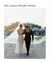 News, Nick, and Girl Memes: Nick Jonas is officially married hi gm to this news