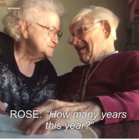"""This will warm your heart. Via In The Know.: NICK MARINO  ROSE: """"How many years  this year?n This will warm your heart. Via In The Know."""