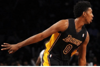 Nick Young Records His 100th 3-pointer of the Season vs The Heat  #LakersSire25 #WWLG4L: Nick Young Records His 100th 3-pointer of the Season vs The Heat  #LakersSire25 #WWLG4L