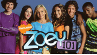 It's been 12 YEARS since the first ever episode of Zoey 101 aired on January 9, 2005: NICKELODEON  101  TM It's been 12 YEARS since the first ever episode of Zoey 101 aired on January 9, 2005