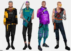 cyberpunkgame:  This is some great fashion inspiration right here - thanks for sharing! ———————————Some outfit concepts for my V ♥ Also, I would like to thank every single person at CDPR for making it possible for us to live our wildest street fashion dreams 😩💪: NIEHT  CITY  END11  Welcome to  paradise  Www cyberpunkgame:  This is some great fashion inspiration right here - thanks for sharing! ———————————Some outfit concepts for my V ♥ Also, I would like to thank every single person at CDPR for making it possible for us to live our wildest street fashion dreams 😩💪