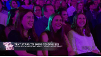Love, True, and Tumblr: NIGHT TEXT STARS TO 50555 TO GIVE $25  MANY MSG & DATA RATES MAY APPLY. TERMS: MGIVE.ORG/T  ARS pactmagic: somewhat-honest-abe:  brainshart: John Mulaney, a true ADHD icon  I love how he gave this bit at an autism benefit because it is also a heavy Autism Mood™   This is the most relatable thing I've ever seen.