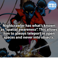 "Memes, 🤖, and Powers: Nightcrawler has what's known  as spatial awareness"" This allows  him to always teleport in open  spaces and never into objects. ▲▲ - Would you rather have super speed or the power to teleport? - My other IG accounts @factsofflash @yourpoketrivia @webslingerfacts ⠀⠀⠀⠀⠀⠀⠀⠀⠀⠀⠀⠀⠀⠀⠀⠀⠀⠀⠀⠀⠀⠀⠀⠀⠀⠀⠀⠀⠀⠀⠀⠀⠀⠀⠀⠀ ⠀⠀--------------------- batmanvssuperman xmen batman superman wonderwomen deadpool spiderman hulk thor ironman marvel captainmarvel theflash wolverine daredevil aquaman justiceleague youngjustice blackpanther greenlantern starwars captainmarvel batmanvsuperman captainamerica thepunisher logan wonderwoman like4like nightcrawler"