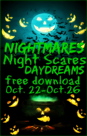 Being Alone, Books, and Confidence: NIGHTMARES  Night Scares  DAYDREAMS  free download  Oct. 22-Oct.26 lorijenessanelson:  Do you see shadows in the daylight? If not, let this poetry collection take you to a new place where dreams are not dreams and nightmares are the beginning of all things fantastical. Not only ghouls and goblins can scare you. Fear can take the shape of your favorite uncle or your father. Horror can happen in the daylight. This is what Nightmares, Night Scares, Daydreams will show you. Lori Jenessa Nelson's second poetry collection will bend your way of thought with its new usage of familiar words. She will bring you to a different realm of a new reality, a place of hopes and dreams and fantastic failure. She explores more familial relations, while also talking about romantic relationships in a new way. She speaks on friendship, fear, retribution, loss, bitterness, and emotional decay. Shedding light on controversial issues and her place as an African-American minority in a white society, Nelson also delves into the darkness without fear that you will see the darkness inside of her. She wishes to share that with you in a way that will bind you together. She will show you the fear of living and the fear of death and also explore self-reflection and the meaning of self-confidence. Wishing to challenge you to think of words in a new way, a noun is not always a noun, as Nelson bends the rules of grammar by riddling this poetry with a naturally free flowing hand of colorful language. And she does not leave out the sex. She takes taboo sexual issues and drags them into the light forcing you to confront things that you may not want to think about. But there are others out there suffering too. And Nelson is here to tell you that you are not alone. She speaks directly to the reader without fluffed language or nonsensical fanfare. This is Halloween where we are all dressing as someone else but all we want is to be ourselves. How do you think of Halloween? 