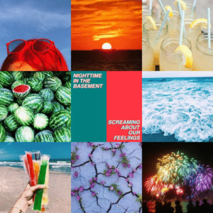 Mood, Target, and Tumblr: NIGHTTIME  IN THE  BASEMENT  SCREAMING  ABOUT  OUR  FEELINGS mydark-aesthetic:  Requested! Gay + Summer + Hippo campus Mood Board